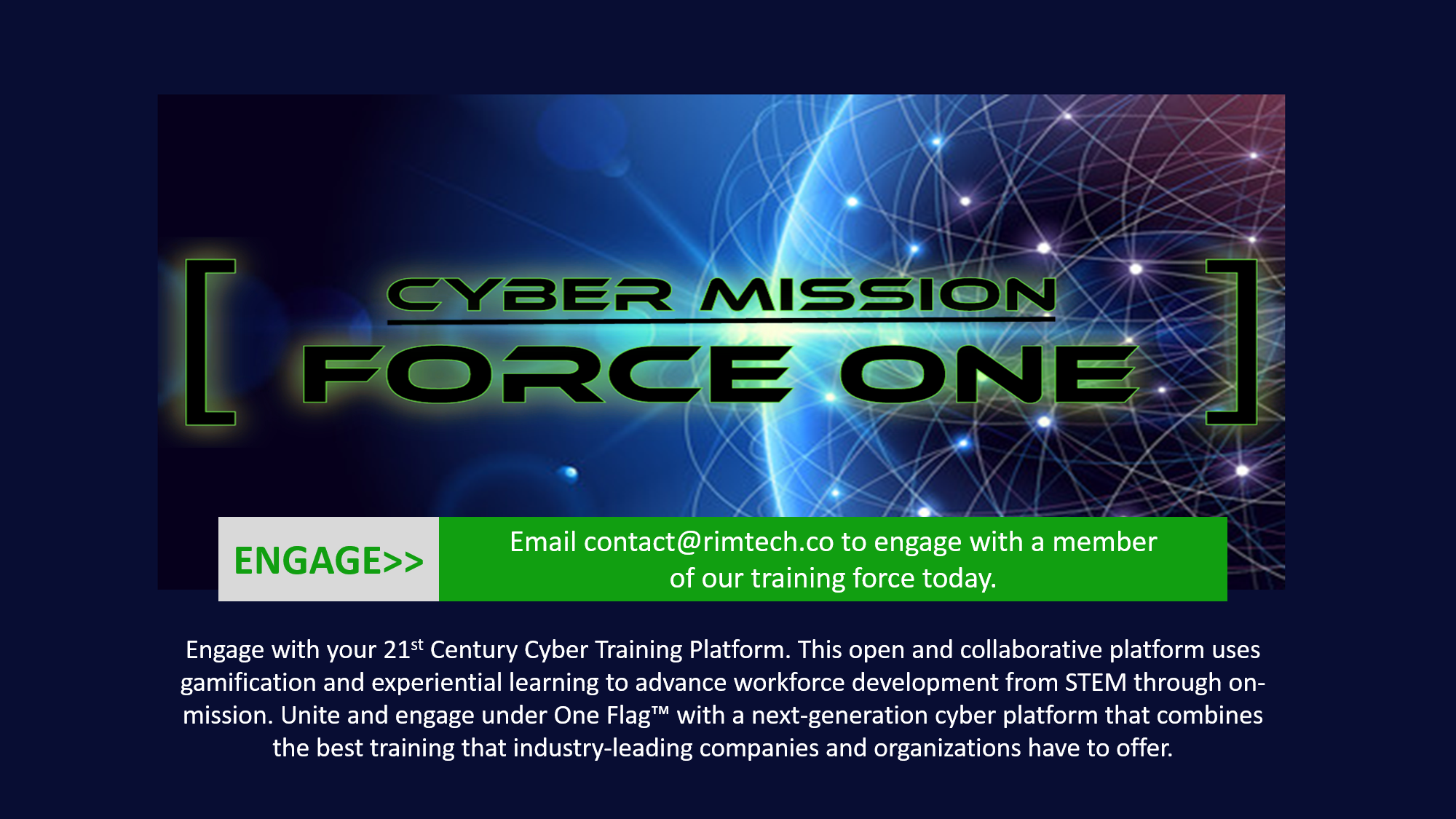 Cyber Mission Force One